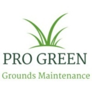 Pro Green Grounds Maintenance Logo